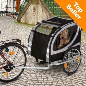 No Limit Doggy Liner Paris de Luxe cykelvagn - Cykelvagnar för Hund