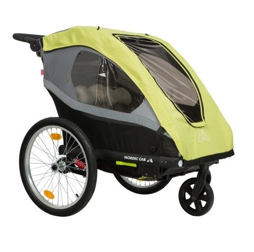 Nordic Cab Active 2-i-1 Vagn - Cykelvagn