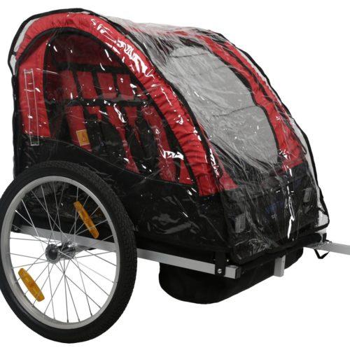 North 13.5 Cykelvagn Roadster Regnskydd - Nordic Cab Cykelvagnar