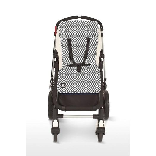 Outlook sittdyna aztec grå - Sittdyna barnvagn