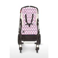 Outlook sittdyna elefant rosa - Sittdyna barnvagn