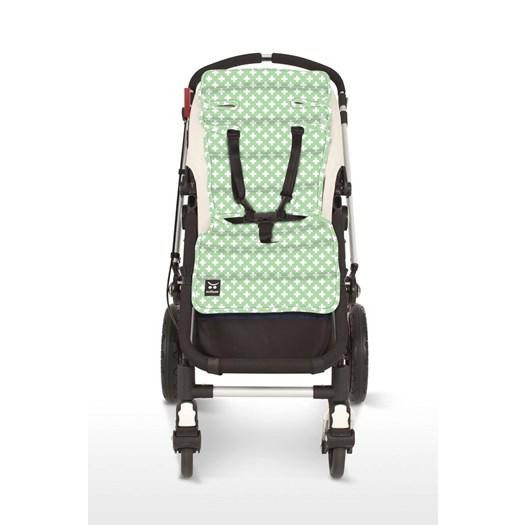 Outlook sittdyna kors mint - Sittdyna barnvagn