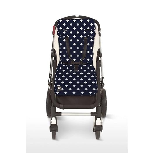 Outlook sittdyna kors navy - Sittdyna barnvagn