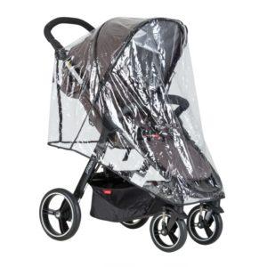 Phil&Teds Smart Regnskydd - regnskydd barnvagn