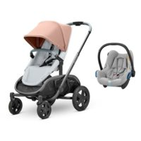 Quinny Hubb sittvagn + cabriofix babyskydd - Syskonvagn