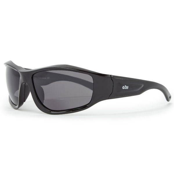 Race Vision Bi-focal Black/Smoke - Gill - bifokala solglasögon