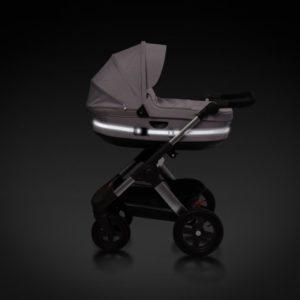 Reflexband till barnvagnar Grå - tillbehor