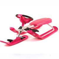 Snowracer Curve Color Pink - bobpulka