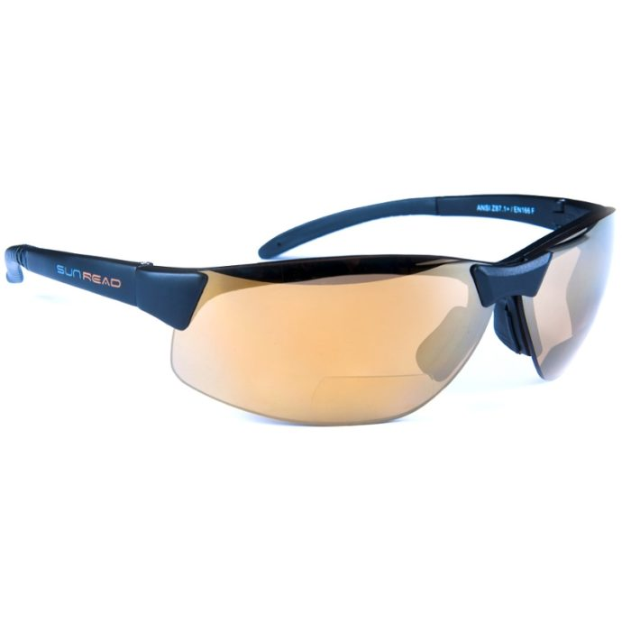 Sport Gold Pro Bifokal Läsruta - Sunread - Köp online - Sportbrillor.s - bifokala solglasögon