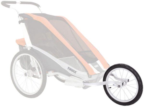 Thule Chariot CX1 Blue med Jogging & Cykelkit - Multisportvagn