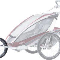 Thule Chariot CX2 Blue med Jogging & Cykelkit - Multisportvagn