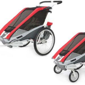 Thule Chariot Cougar 1 med Promenad- och Cykelkit