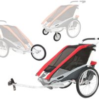 Thule Chariot Cougar 2 med Cykel-