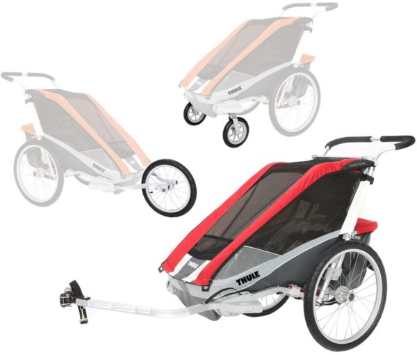 Thule Chariot Cougar 2 med Cykel-