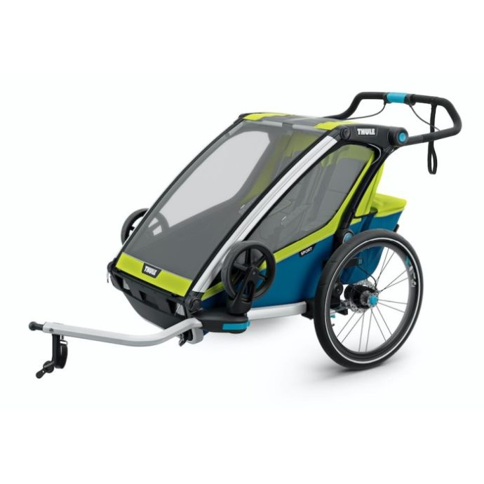 Thule Chariot Sport2 (Grön) - Cykelvagn