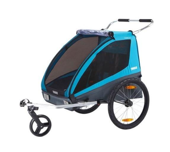 Thule Coaster XT bike trailer+Stroll (Blå) - Cykelvagn