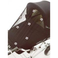 Tinkafu Myggnät Football - Myggnät till barnvagn