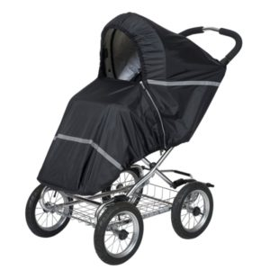 Tullsa Regnskydd Sittvagn och sulky (Svart) - regnskydd barnvagn