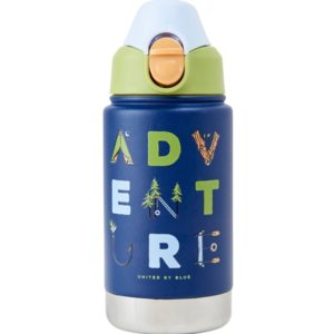 United By Blue Kids Adventure 12Oz Stainless Steel Bottle - Termos