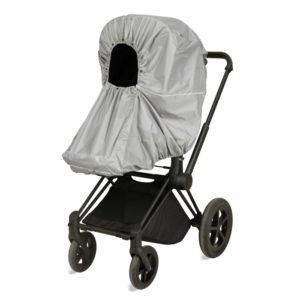 Vinter & Bloom Regnskydd Chic (Silver Grey) - regnskydd barnvagn