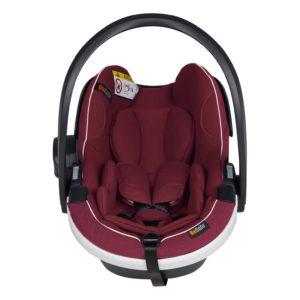 iZi Go Modular X1 i-Size Babyskydd Burgundy Melange - Bilbarnstolar