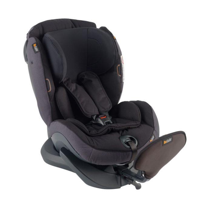iZi Plus X1 Car Seat Midnight Black Mélange - Bilbarnstolar