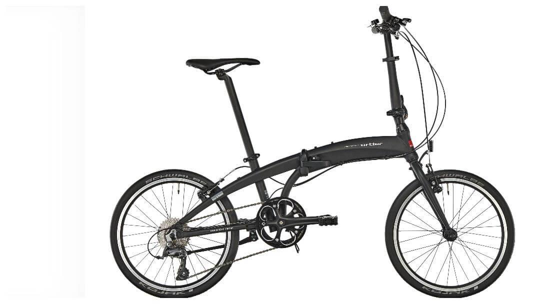 Sportig hopfällbar cykel: Ortler London Race