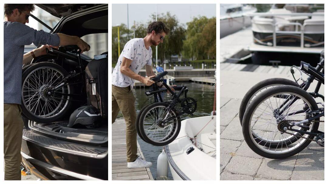 Fritidsportalens test av hopfällbara cyklar oktober 2019