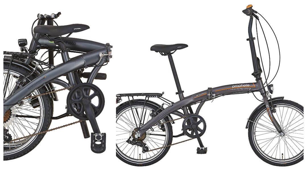 Prophete Geniesser 7.1 - en populär hopfällbar cykel