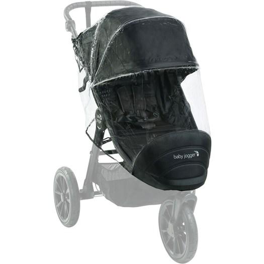 Baby Jogger regnskydd City Elite 2/City Mini GT 2 sittvagn - regnskydd