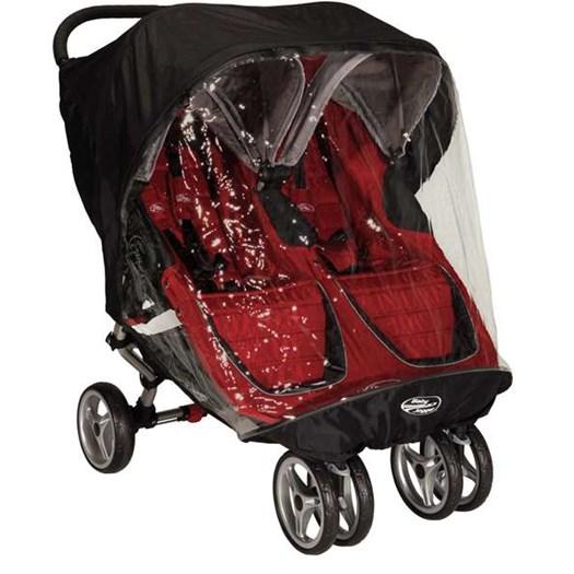 Baby Jogger regnskydd City Mini GT dubbel - regnskydd