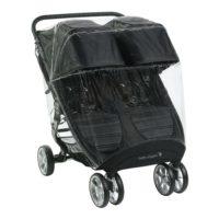 Baby Jogger regnskydd City Mini GT2 dubbel - syskonvagn