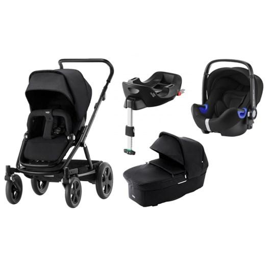 Britax Go Big 2 duovagn + babysafe2 i-size babyskydd + isofixbas - paket