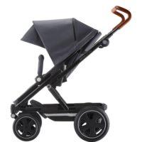 graphite melange/cognac - sittvagn