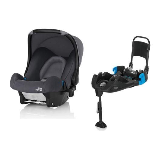Britax Römer Baby-safe babyskydd + bältad bas