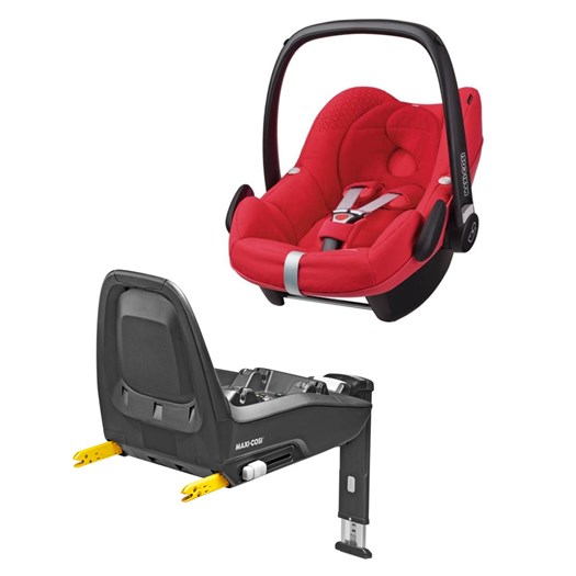 Maxi-Cosi Pebble babyskydd + Familyfix One isofixbas 0-13 kg - bilbarnstolar